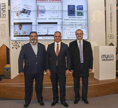 Minister TAÇOY Visited ITU Teknokent