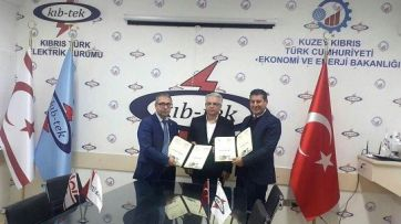 In-service Training Agreement Signed Between ITU-TRNC and KIB-TEK