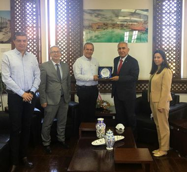 Turizm Ve Çevre Bakanına Ziyaret