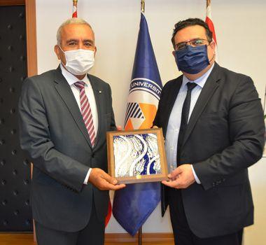 DAÜ Rektörü Prof. Dr. Aykut HOCANIN'a Ziyaret