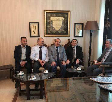 Selçuk Üniversitesi Güzel Sanatlar Fakültesi'ne Ziyaret