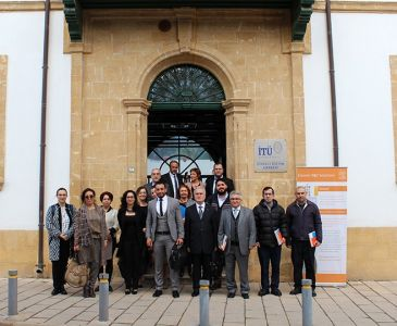 ELSEVIER Meeting Was Held at ITU-TRNC CEC