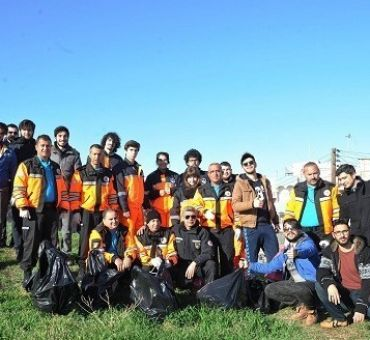 ITU North Cyprus AKUT (Search and Rescue) Team Members Supported the Environment Protection Project
