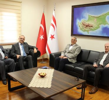 ITU Alumni Association Cyprus Board Members Visited Our University