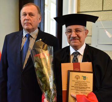 İTÜ Rektörüne Ukrayna'dan Fahri Doktora