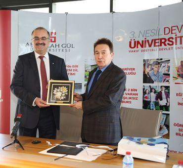 AGÜ ile İşbirliği Protokolü İmzalandı