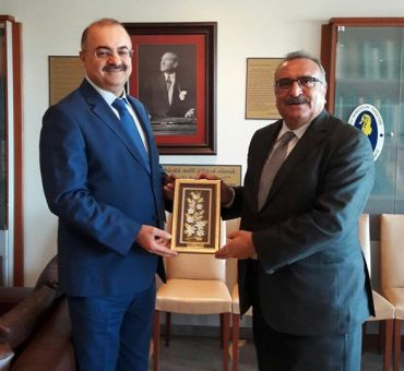 Türkiye Denizcilik Federasyonu'na Ziyaret