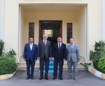 Minister of Labour and Social Security visited ITU-TRNC