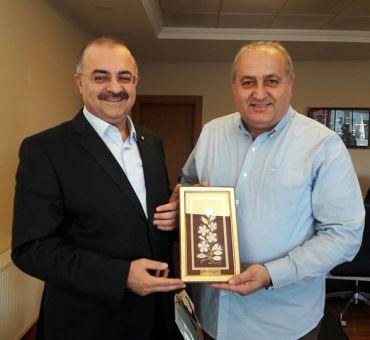 Türkiye Gemi İnşa Sanayicileri Birliği'ne Ziyaret