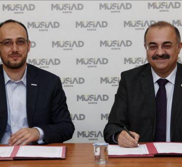 MÜSİAD Konya ile İTÜ-KKTC Arasında Protokol İmzalandı