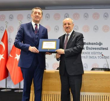 "A First from the T.R. Ministry of Education and ITU: ""ITU Vocational and Technical Anatolian High School"""