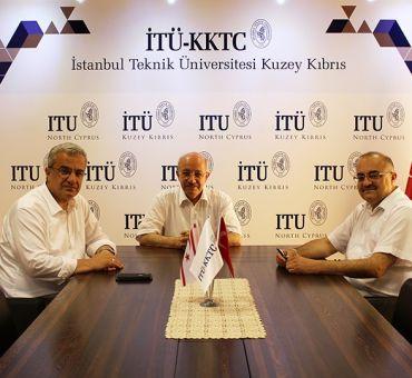 ITU Rector Prof. Dr. Mehmet KARACA visited ITU-North Cyprus