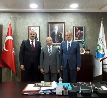 T.C. Orman ve Su İşleri Bakanlığı'na Ziyaret