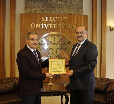 Visit to Selçuk University