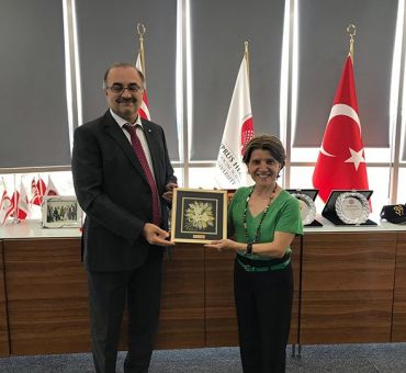 A visit to Cyprus Health and Social Sciences University