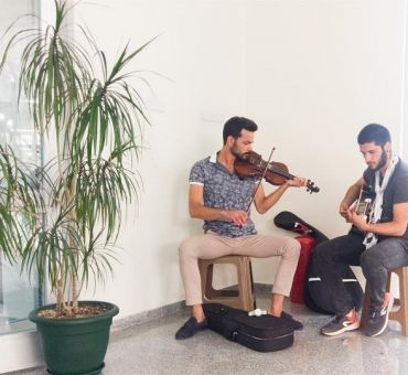 A concert was Performed at Famagusta State Hospital
