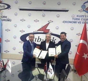 İTÜ-KKTC ile KIBTEK Arasında Hizmet İçi Eğitim Sözleşmesi İmzalandı