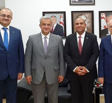 A Visit to TRNC Minister of Public Works and Transportation Tolga ATAKAN