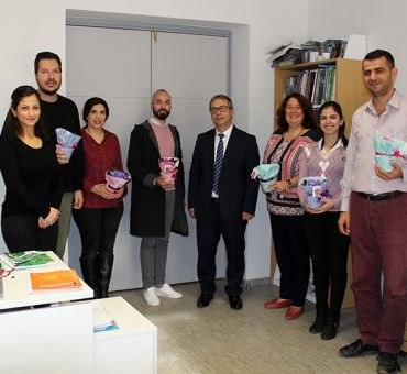 ITU North Cyprus Celebrated Teachers' Day