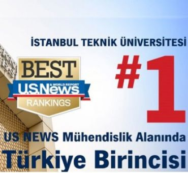 ITU Highest Ranked in Turkey at the Field of Engineering