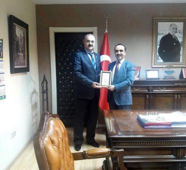 T.C. Orman ve Su İşleri Bakanlığı Müsteşarı Akif ÖZKALDI 'ya Ziyaret