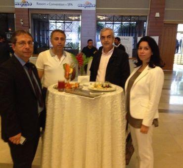 Üniversitemiz MÜSİAD Kıbrıs Kurultayı'na Katıldı