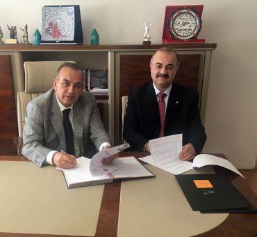 Konya Esnaf ve Sanatkarlar Odaları Birliği ile Protokol İmzalandı