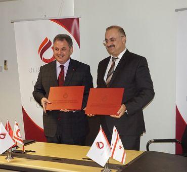 UKÜ ile İTÜ-KKTC Arasında İşbirliği Protokolü İmzalandı