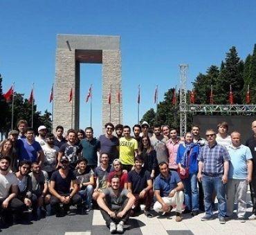 Çanakkale ve İstanbul Gezileri Tamamlandı