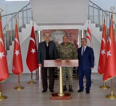 Albay KORUK'a Nezaket Ziyareti