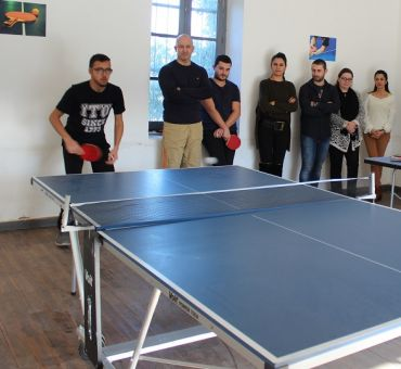 Table Tennis Tournament Was Organised