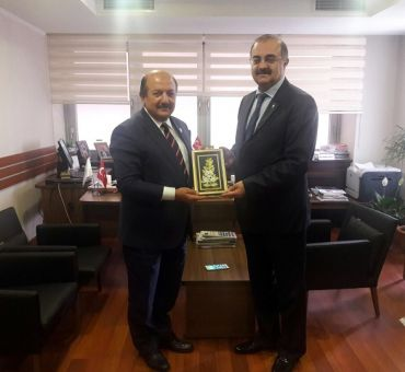 KAHYA Met with Counselor Ferruh TIĞLI