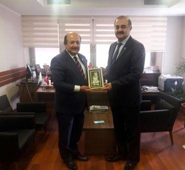 KAHYA Met with Counselor Ferruh TIĞLI