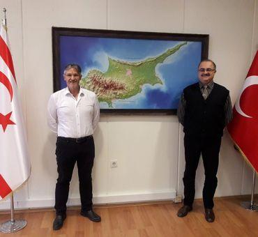 TREV ve ZY Başkanı Önder YOL İTÜ-KKTC Çalışma Ofisini Ziyaret Etti