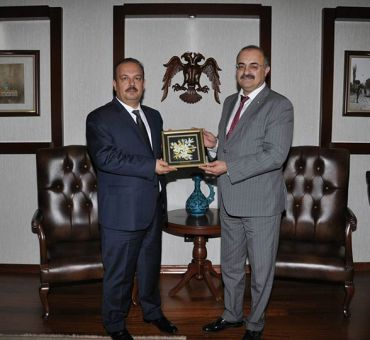 Rector KAHYA Visited Governor of Konya CANBOLAT