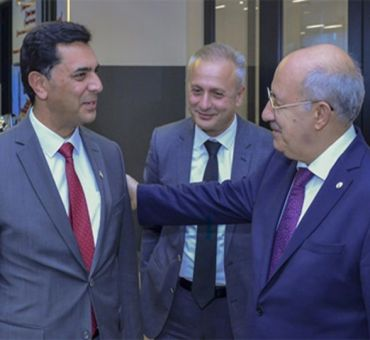 Prime Minister ERHÜRMAN and Minister NAMİ Visited ITU