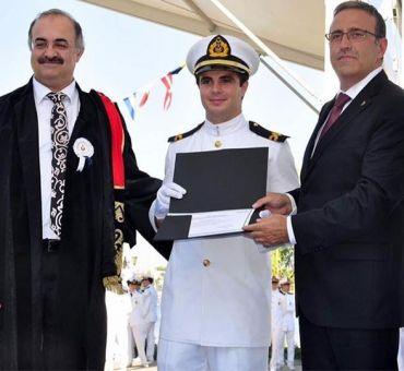 İTÜ-KKTC Denizcilik ve Gemi İnşaatı Bölümlerinden Mezun Vermeye Devam Ediyor