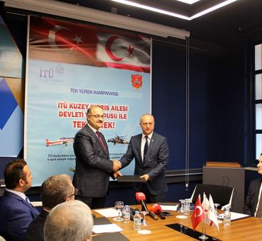 """A campaign from ITU North Cyprus: """"One Heart with State and Military"""""""