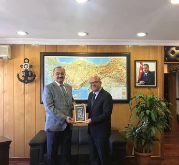 Visit to Deputy Secretary and Maritime and Inland Waters Regulation Director General Ahmet Selçuk SERT