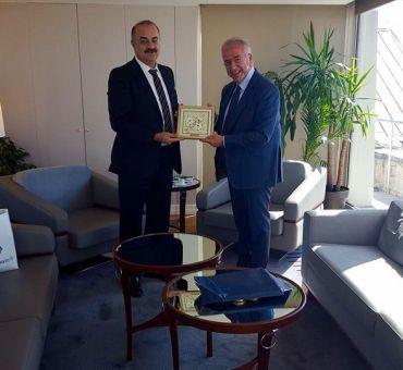 TÜSİAD Yönetim Kurulu Başkanı Erol BİLECİK'e Ziyaret