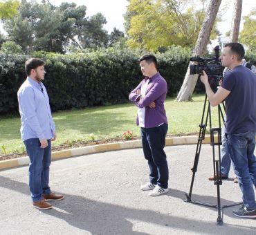 Kırgız Televizyonunda Tanıtıldık