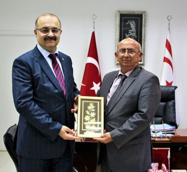 Visit to National Education and Culture Minister ÖZYİĞİT