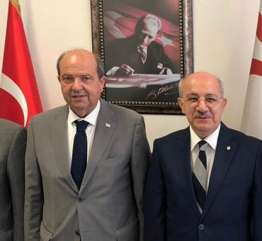 KKTC Başbakanı Ersin TATAR'a Ziyaret