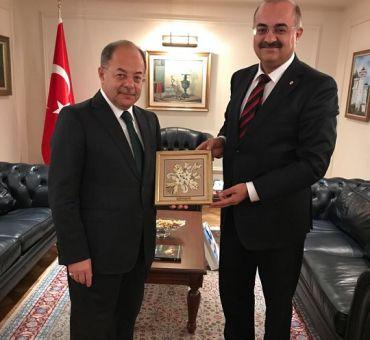 Kıbrıs İşlerinden Sorumlu Başbakan Yardımcısı Recep AKDAĞ'a Ziyaret