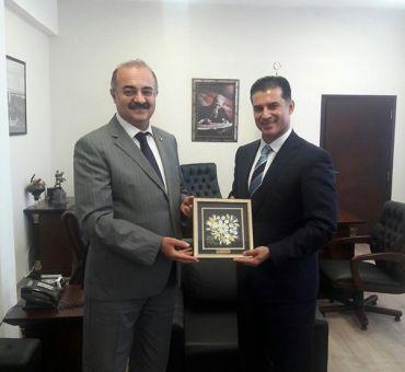 Visit to TRNC Prime Minister ÖZGÜRGÜN