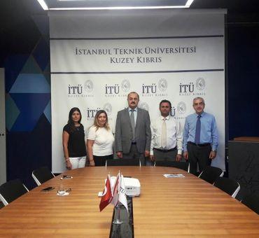 Kıbrıs Türk Eczacılar Birliği SEM'i Ziyaret Etti