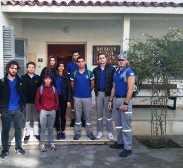 AKUT Üyeleri Barbarlık Müzesi'ni Ziyaret Etti