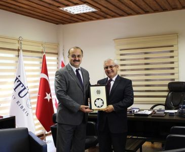 University of City Island Rector Visited Our University