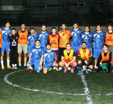 A Friendly Game with Cyprus International University Football Team