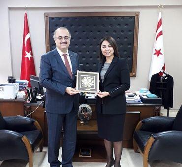 İçişleri Bakanı Ayşegül BAYBARS'a Ziyaret